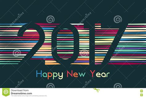 happy new year title vector happy holidays merry and happy new year colorful