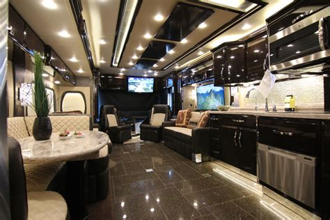 luxury motor homes top 5 most luxurious rvs cing world