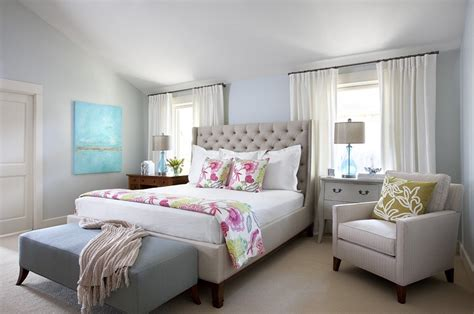 Bedroom Looks | before and after blue bedroom heather scott home design