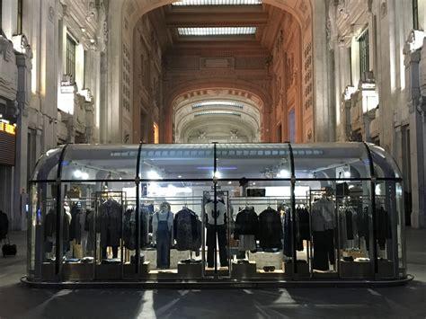 galleria delle carrozze stazione centrale pepe temporary shop stazione centrale