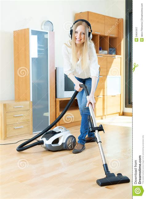 Vacuum Cleaner Happy King happy cleaning with vacuum cleaner stock