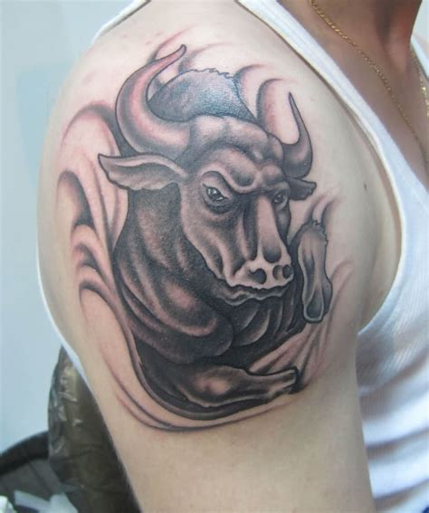 amazing taurus bull tattoo 187 tattoo ideas