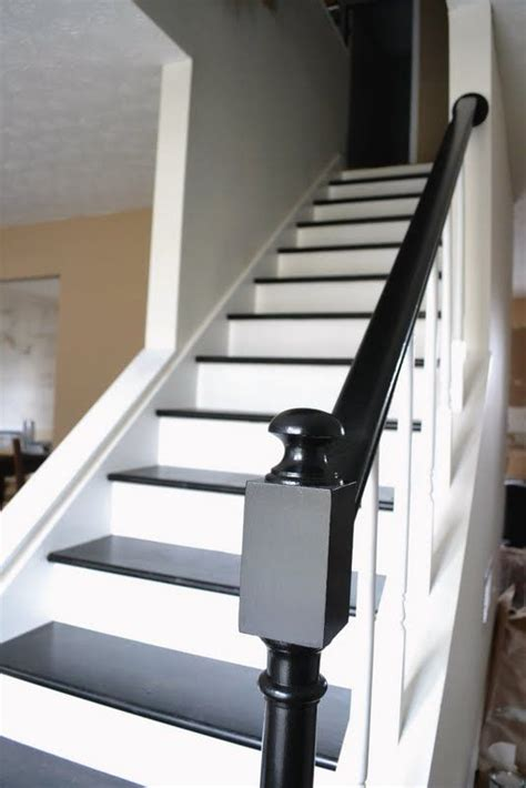 difference between banister and balustrade 25 best ideas about black painted stairs on pinterest
