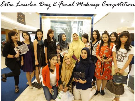 Estee Lauder Indonesia estee lauder day 2 makeup competition jakarta