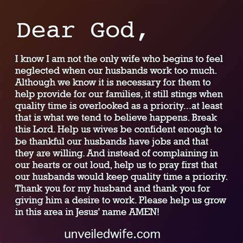 Neglected Wife Meme - prayer when my husband works too much on the side
