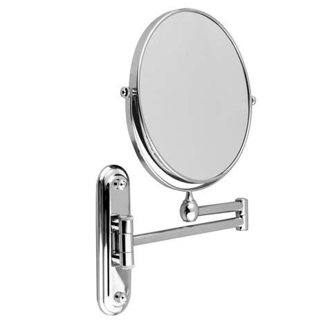 magnifying wall mirrors for bathroom new wall mounted extending mirror 10x magnifying bathroom