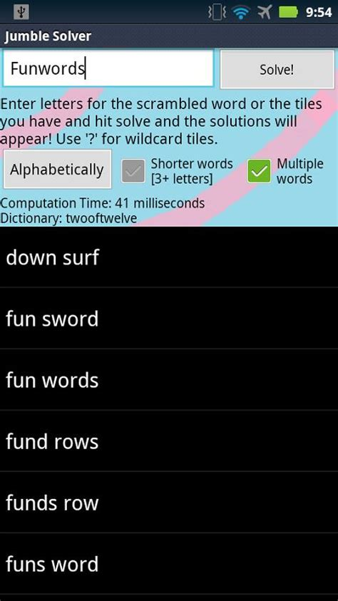 scramble words solver scrabble jumble solver android apps on play