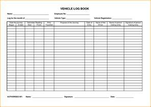 motor vehicle log book template vehicle log book www pixshark images galleries