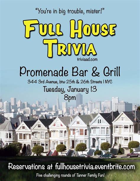 full house trivia full house trivia at promenade murphguide nyc bar guide