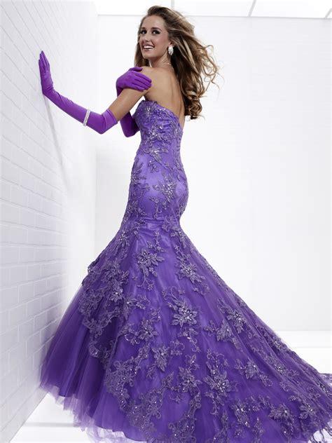Purple Wedding Dresses Uk by And Es Black Purple Mermaid Wedding Dress White And Es Uk