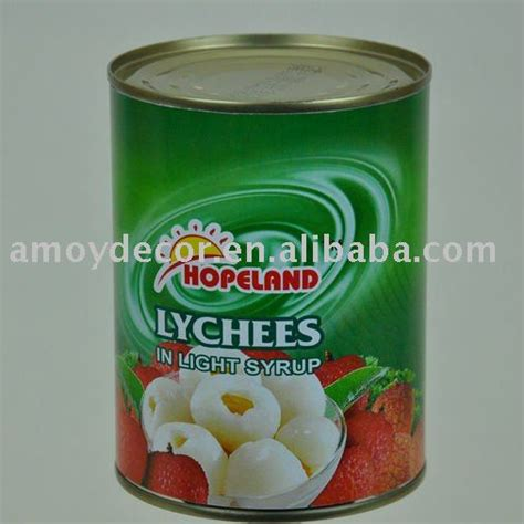 Lychees In Syrup Herring Brand 567g canned lychees products china canned lychees supplier