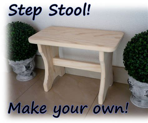 make your own step stool 11
