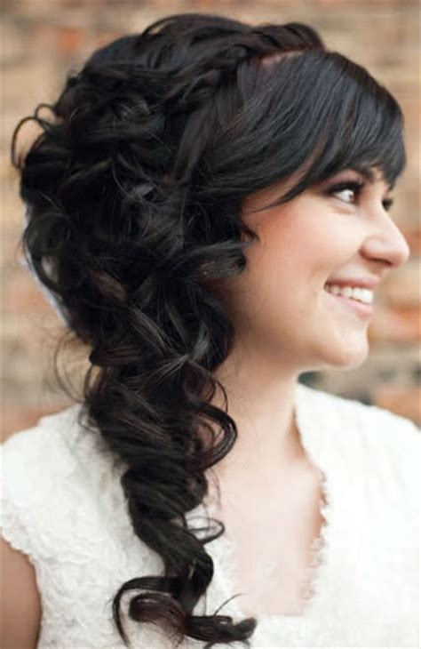 Hairstyles Cascading Curls | 11 glamorous wedding hairstyles for long hair 2014