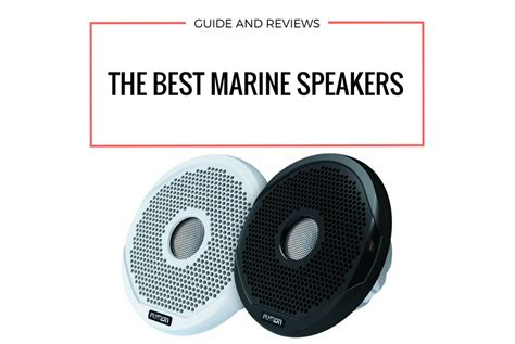 boat audio speakers best marine speakers of 2018 rocking boat audio with