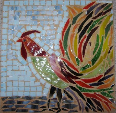 mosaic rooster pattern 103 best images about mosaic chickens on pinterest