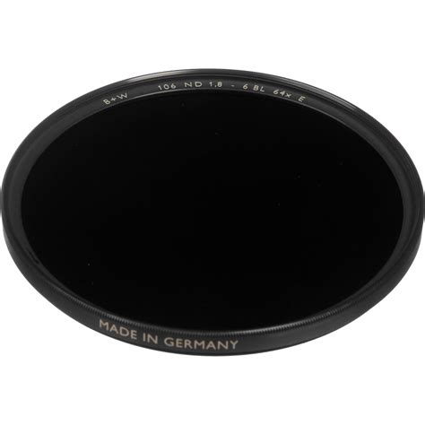 Optic Pro 6 67mm b w 67mm sc 106 solid neutral density 1 8 filter 65