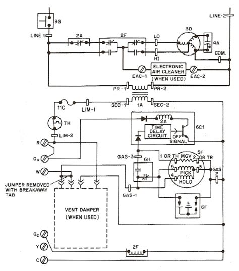 gas furnace wiring diagram efcaviation