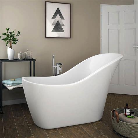 Shower Baths For Small Bathrooms Vienna 1520 Modern Slipper Free Standing Bath Plumbing