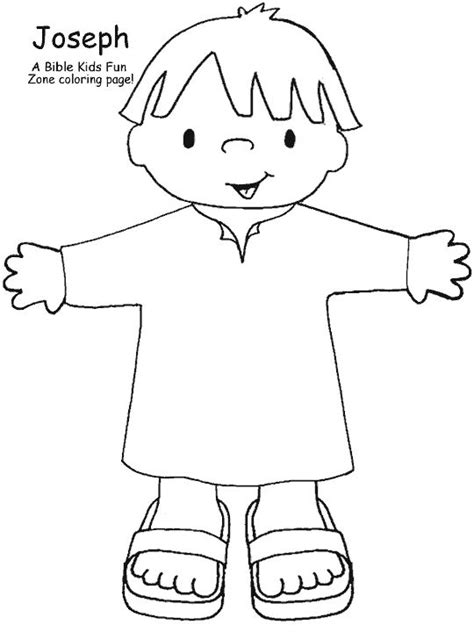 sunday school coloring pages for joseph 24 best toddlers joseph images on pinterest sunday