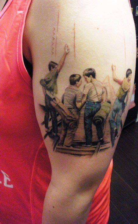 stand by me tattoo stand by me a bit perhaps but awesome