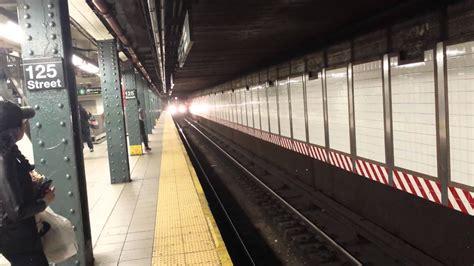 irt subway line 3rd avenue 138th bound r142a 6 entering leaving 125th