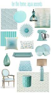 Aqua Blue Home Decor by Bhg Centsational Style