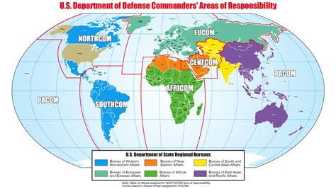 combatant command map america s new defense posture