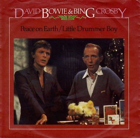 david bowie bing crosby xmas song david bowie and bing crosby peace on earth little