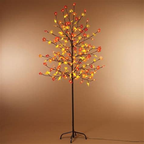 Gerson 25569 2230900 Maple Home Office Tree Electric Tree Lights