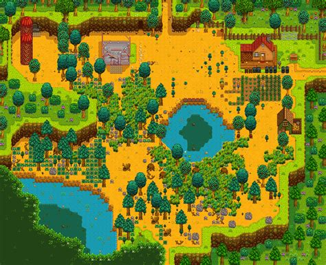 Home Design Generator by Wilderness Farm Upload Farm Stardew Valley Summary Generator