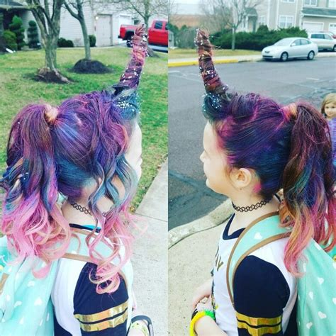 crazy hair day hairstyle princess hairstyles crazy hair day unicorn hair kids styles pinterest