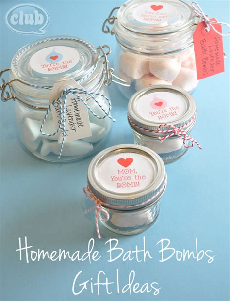 bathroom gift ideas homemade bath bombs gift idea