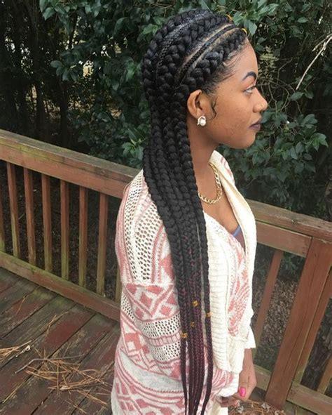 big all back weaving 125 ghana braids inspiration tutorial in 2018 reachel