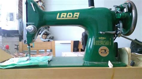 lada sewing machine lada t121 model 121 vintage sewing machine
