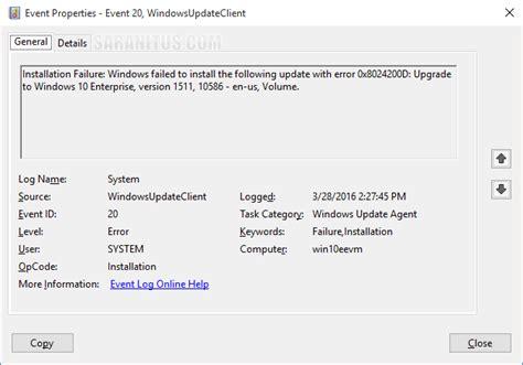 install windows 10 via wsus ว ธ อ พเกรด windows 10 version 1511 ผ านทาง wsus server