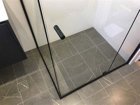 Semi Frameless Shower Screen   White Bathroom Co