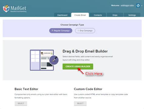 Responsive Email Template Builder Build The Perfect Email Mailget Free Email Template Builder Drag And Drop