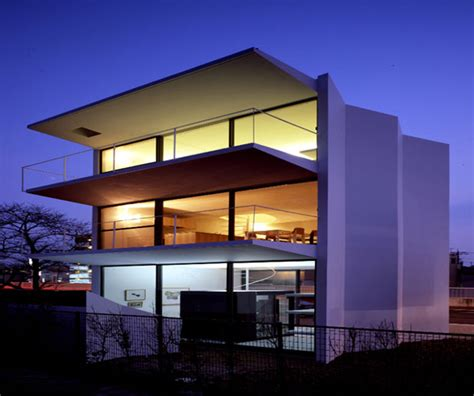 minimalist design facade japanese home architecture hidden behind the minimalist