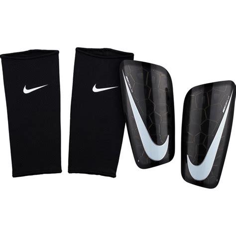 nike mercurial lite adult football shin pads black