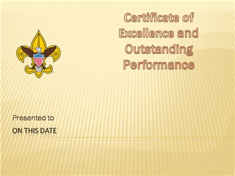 cub scout certificate templates boy scout award certificates pictures to pin on