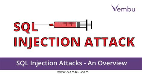 research papers on sql injection attacks sql injection attacks an overview vembu