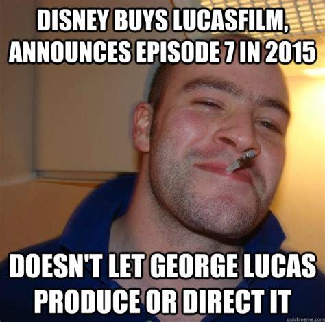 Lucas Meme - disney buys lucasfilm announces episode 7 in 2015 doesn t