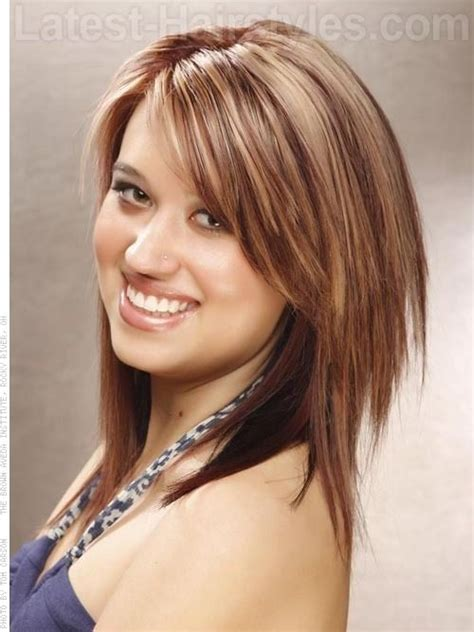 shag hairstyles for square faces medium length choppy layered hairstyles picture of