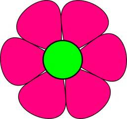 Flower Pink - small flowers clip art cliparts co