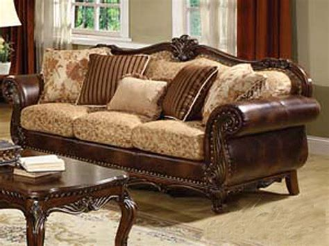 traditional couch acerito traditional sofa ac 55 traditional sofas
