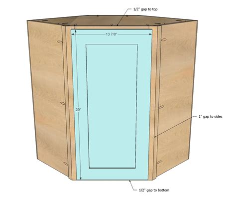 How To Build A Corner Kitchen Cabinet Woodworking Build A Corner Wall Cabinet Plans Pdf Free Build A Fireplace Surround Plans