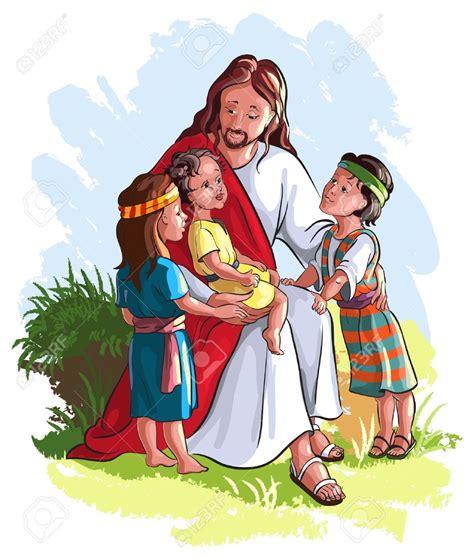 immagini clipart bambini clipart of jesus with children 101 clip