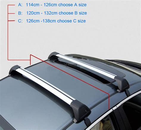 no drill roof rack popular universal roof rack cross bars buy cheap universal roof rack cross bars lots from china
