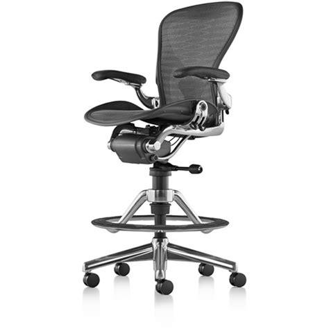 Aeron Work Stool Used by Herman Miller Aeron Stool Huntoffice Ie