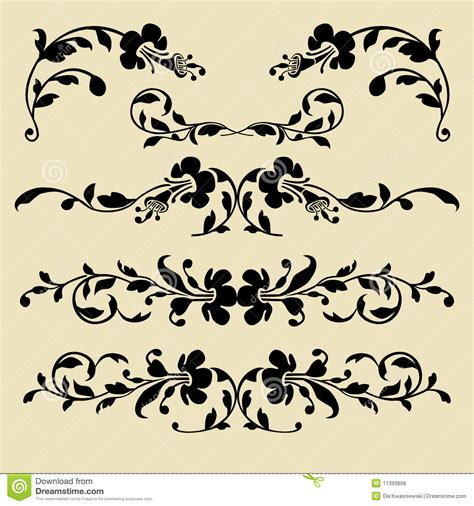baroque designs 15 baroque design vector images baroque ornament vector